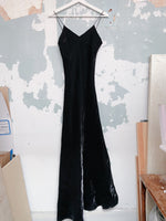 SILK MAXI SLIP DRESS