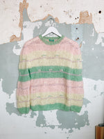 80'S PASTEL MOHAIR SWEATER