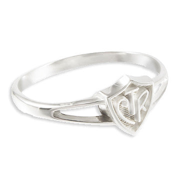 CTR Saturn Plain Sterling Silver Ring