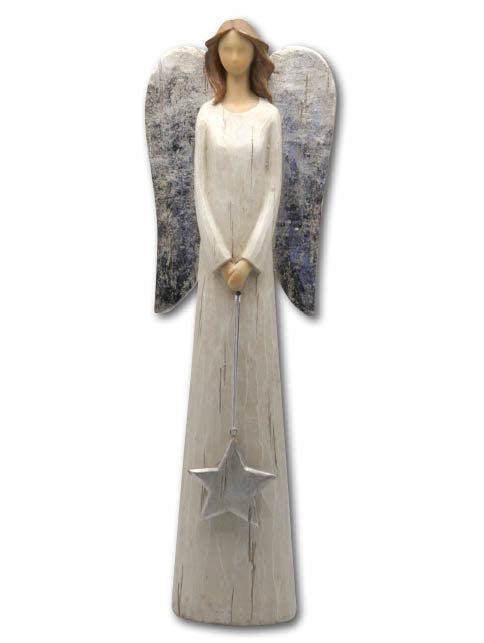 Standing Angel with Star