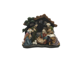 Nativity w/Stable 130mm