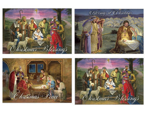 Deluxe Christmas Cards (Boxed Set - 16 Cards)
