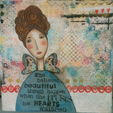 Whimsy and Me Canvas Artwork