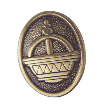 Liahona Gold Antique Pin