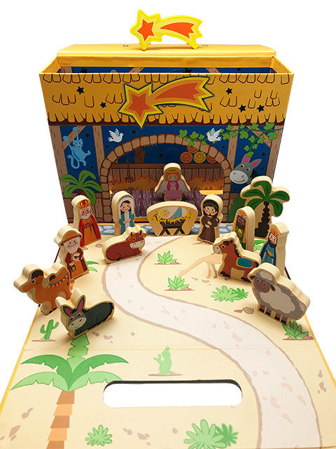 Children's Nativity Set (Wooden)