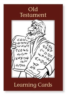 Old Testament Learning Cards