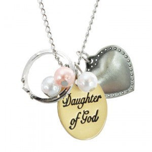 Daughter of God 2-Tone Necklace