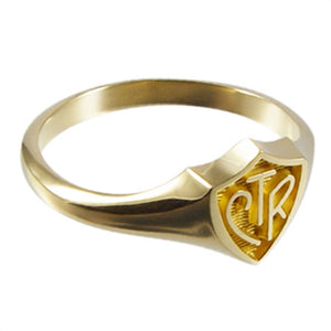 CTR Gold Regular Ring (Stainless Steel)