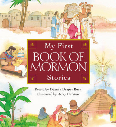 My First Book of Mormon Stories (Board Book)