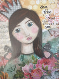 Whimsy and Me Quotes & Artwork (A4)