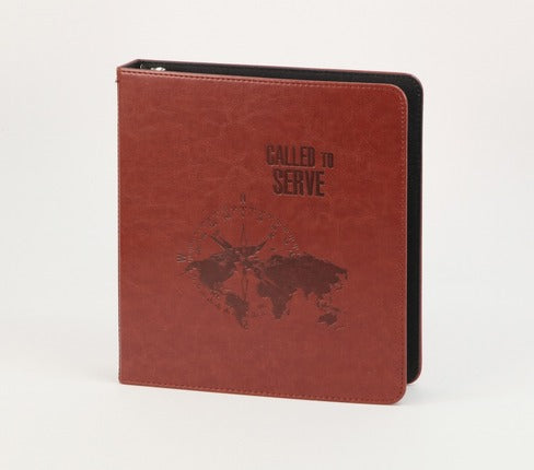 Called to Serve Missionary 3-Ring Binder Journal