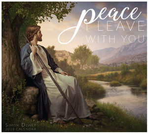 Peace I Leave with You 2018 Calendar