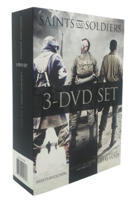Saints and Soldiers: Best Value 3 Pack DVD