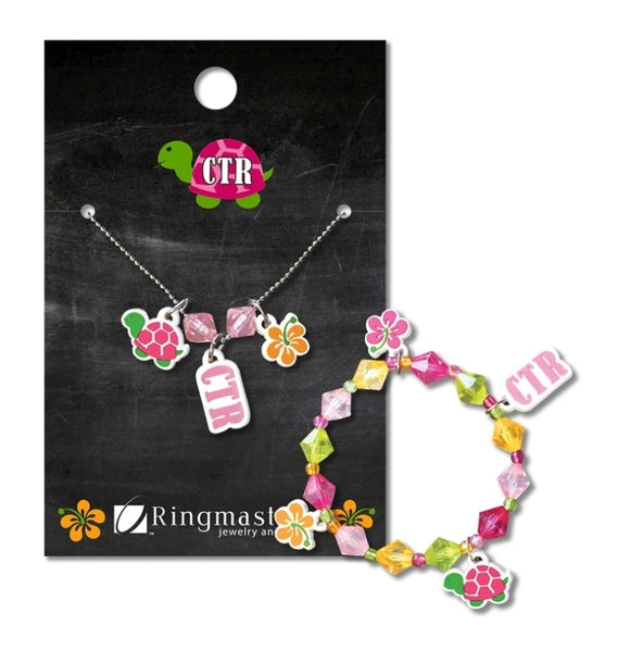 CTR Tropical Necklace & Bracelet Set