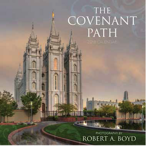 The Covenant Path Wall Calendar - 2018