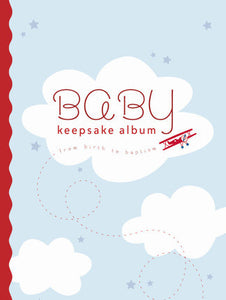Baby Keepsake Album: Blue