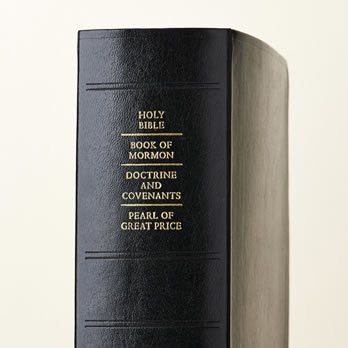 Scriptures - Quad Combination Simulated Leather Thumb/ Indexed (Regular)