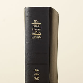 Scriptures - Quad Combination Leather Thumb/ Indexed (Regular)