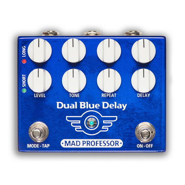 Mad Professor Dual Blue Delay Factory Made Effektpedal
