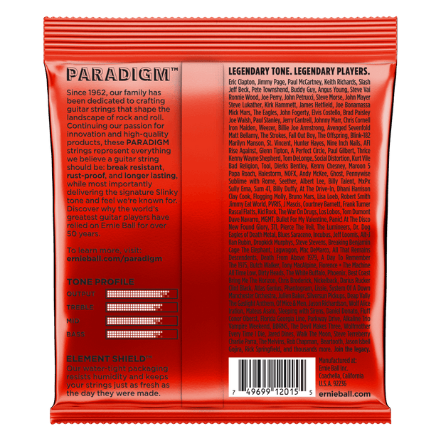 Ernie Ball 2015 Paradigm Skinny Top Heavy Bottom 10-52 Saitensatz