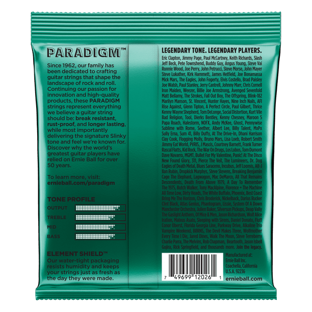 Ernie Ball 2026 Paradigm Not even Slinky 12-56 Saitensatz