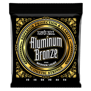 Ernie Ball 2566 Aluminum Bronze Medium Light 12-54 Saitensatz