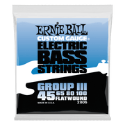 Ernie Ball 2806 Flatwound Group III Bass 45-100 Stainless Steel Saitensatz