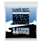 Ernie Ball 2810 Flatwound 5-String Bass 45-130 Stainless Steel Saitensatz