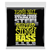 Ernie Ball 2842 Stainless Steel Regular Slinky Bass 50-105 Saitensatz