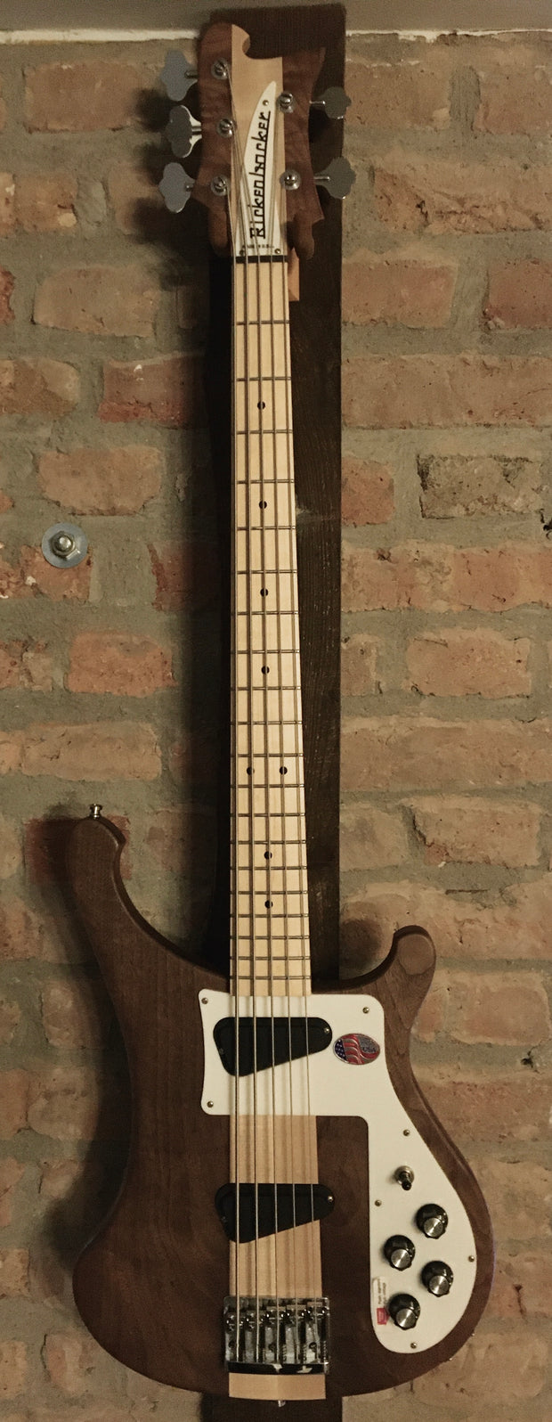 Rickenbacker 4003S/5 Walnut E-Bass