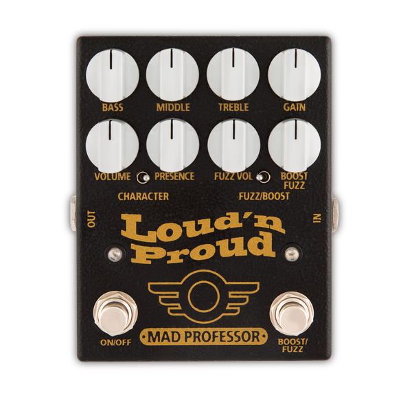 Mad Professor Loud'n Proud Overdrive Booster Fuzz Effektpedal
