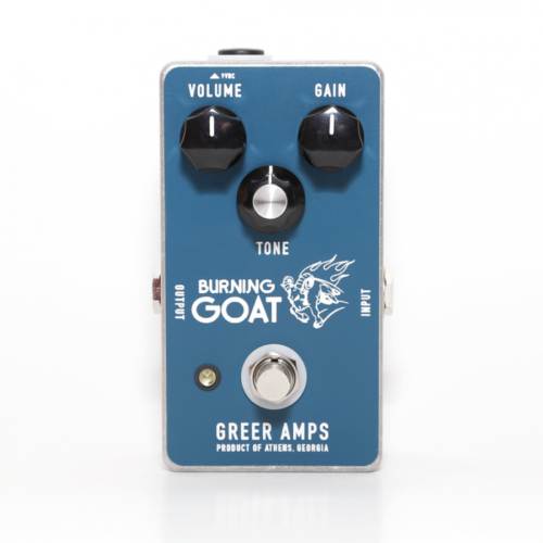 Greer Amps Burning Goat Overdrive Effektpedal