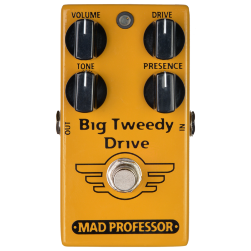 Mad Professor Big Tweedy Drive Factory Made Effektpedal