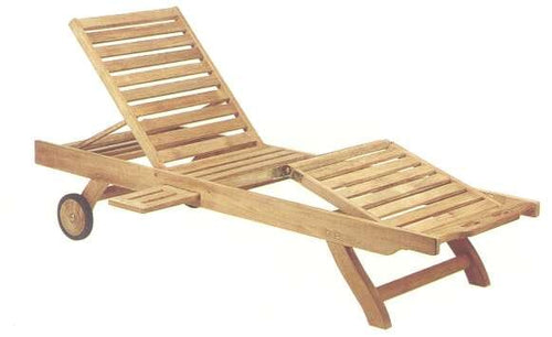 Delaware Chaise - 3 way adjustable (3 positions each)