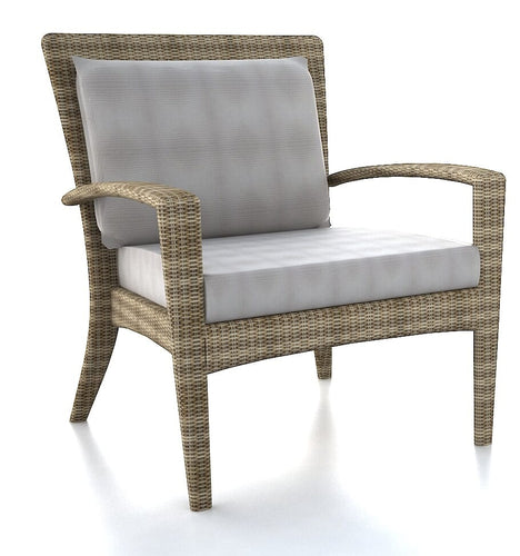 Granada DS Club Arm Chair, Stacking, Driftwood