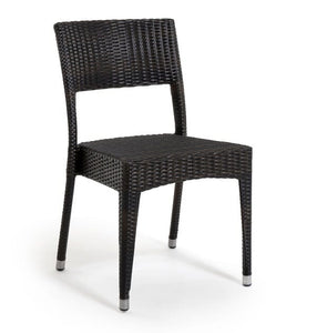 Napoli Side Chair, Stacking, Java, (NM)