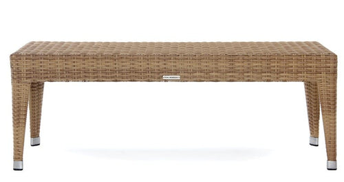 Napoli Backless Bench, Natural, 49