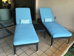 Napoli Chaise Lounger (6 leg) XL (NM)