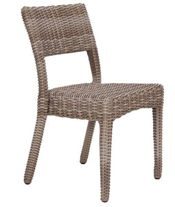 Napoli Side Chair, Stacking, Driftwood