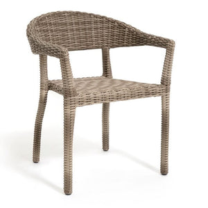 Rio Armchair, Stacking, Driftwood