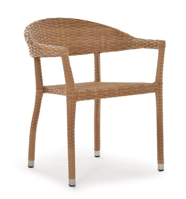 Rio Armchair, Stacking, Natural (Star)