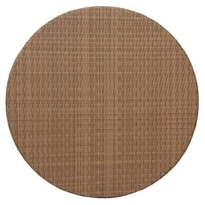 "Round Tabletop 31"", Woven Top - (Glass Additional), Natural (Star)"
