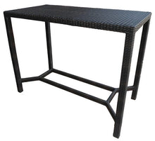 "Load image into Gallery viewer, Valencia Rectangular Bar Table (28x55"") W Grill Underside"