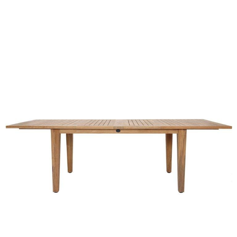 St Tropez Rectangular Extension Table (126/105/83x39
