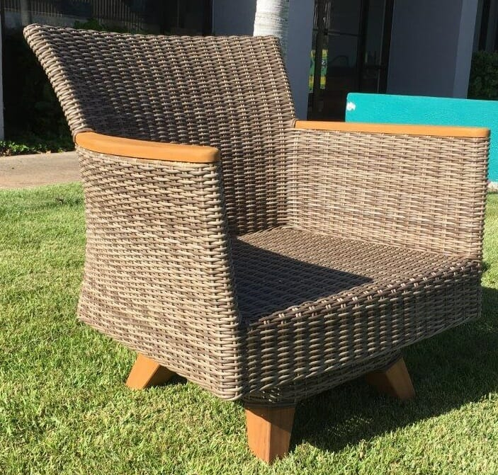 Tanzania Swivel Club Arm Chair