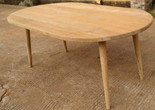 "Load image into Gallery viewer, Copenhagen Rect/Oval Table XL BASE ONLY (for 79/83x43/39"" top)"