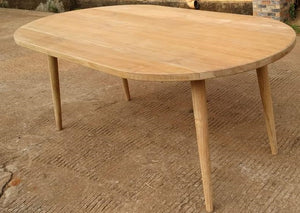 "Copenhagen Rect/Oval Table XL BASE ONLY (for 79/83x43/39"" top)"