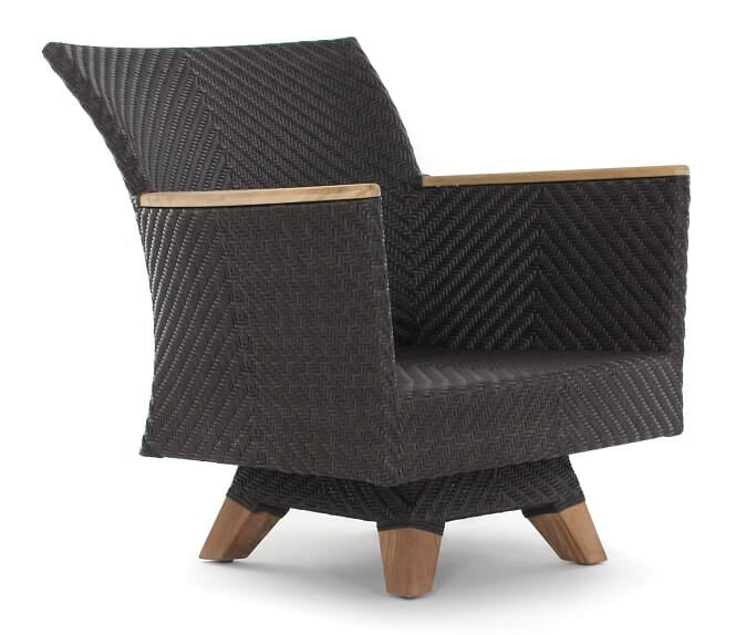 Zanzibar Swivel Club Arm Chair