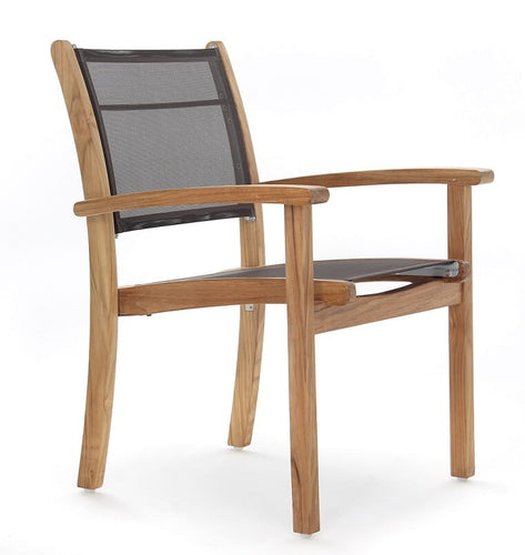 Newport Stacking Armchair, Ash Sling 5014