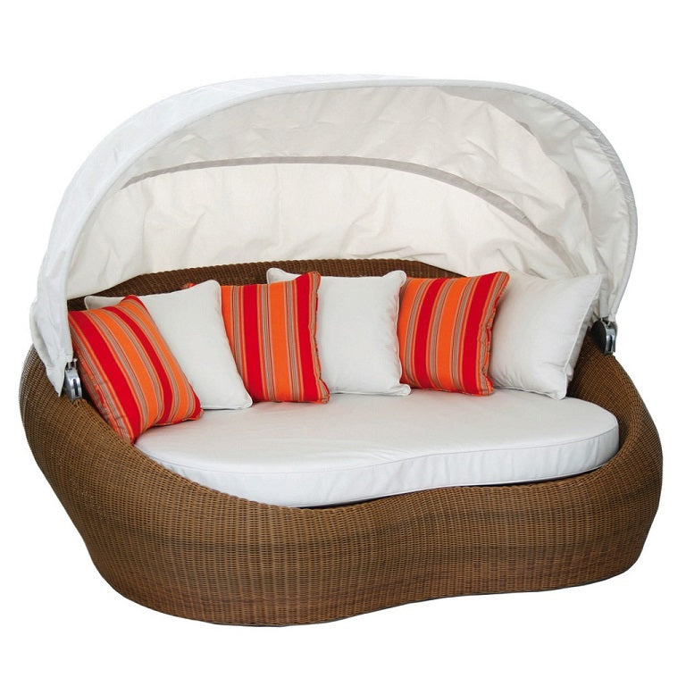 Sherena Oval Daybed, with Canopy